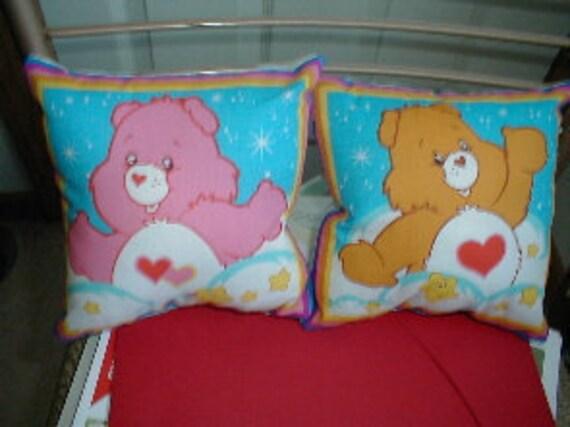 Cute Adorable Care Bear Pillows  Brand New