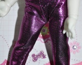 25% Off Everything Sparkly purple lycra pants - Lati & Pukifee