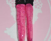 25% Off Everything Pink sparkly socks - Pullip, Blythe, Barbie