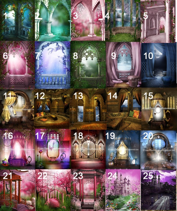Backgrounds for My fantasy Photo Art Portraits (must purchase fairyfy first)