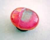 Pink Dichroic Magnet Fridge Bling