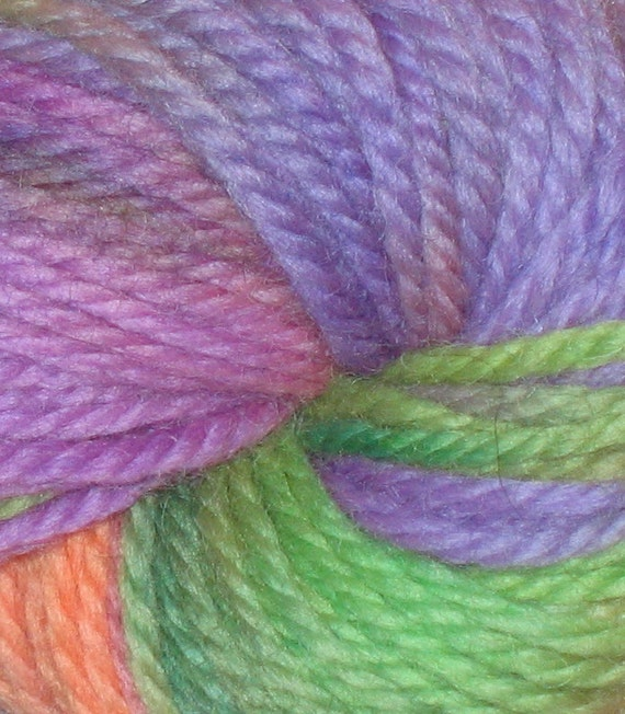 SALE - 25 percent Off Butterfly Bush Handpainted 100% Peruvian Highland Wool