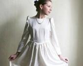 Sweet Princess - Ivory white girl's Dress size S XS