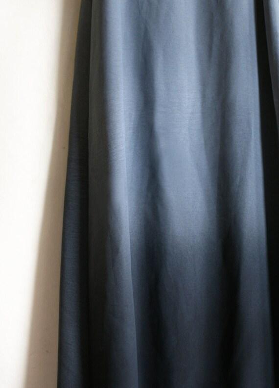 Indigo Gray aquarell dress