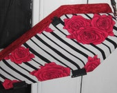 Rockabilly Rose Coffin Purse