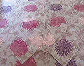 Beautiful Floral heavy Table Cloth and Four Matching Napkins