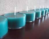 Tea Lights Blue Raspberry Orange Eight Soy Tea Light Candles