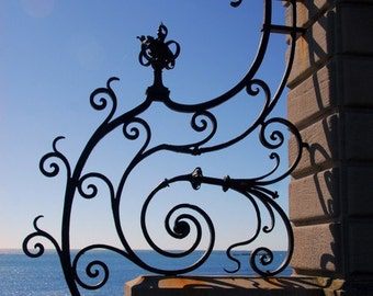 Popular items for wrought iron gate on Etsy