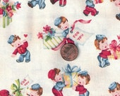 Vintage Sweet For You Valentine Fabric  Marcus Fabrics