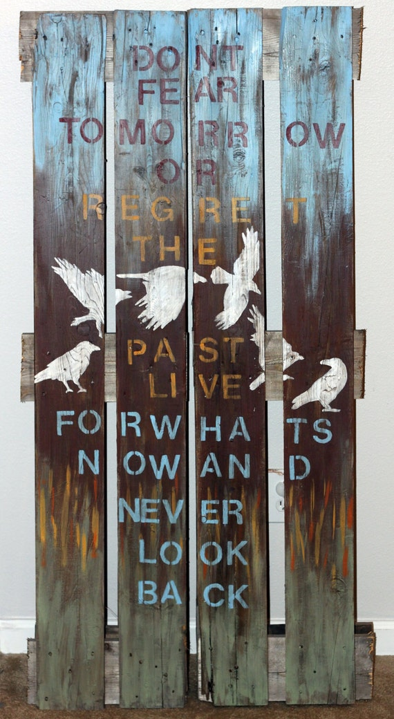 Items similar to Wood Pallet Painting on Etsy