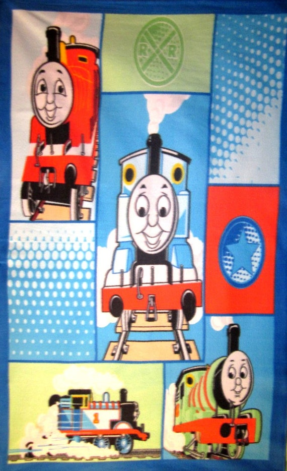 Thomas The Train Tank Engine & Friends Fleece Throw Blanket Soft Warm Wall Hanging