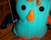 Lil Blue Penguin Marionette
