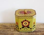 Vintage folk art tin