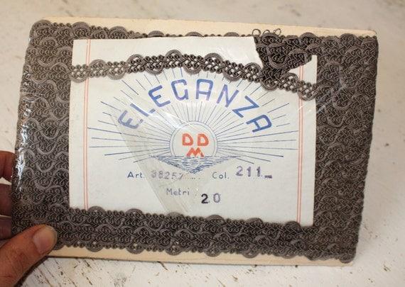 Italian Vintage Elegant Trim - Original Packaging - circa 1960s - 20 metres