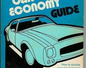Car Economy Guide - 1973 - An Arc Book - Vintage Collector's  Item