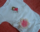 Reserved for Lizel I Do Believe In Fairies Onsie and Flower Hairband Set Limited Edition