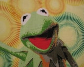 Kermit the Frog with Green Blanket