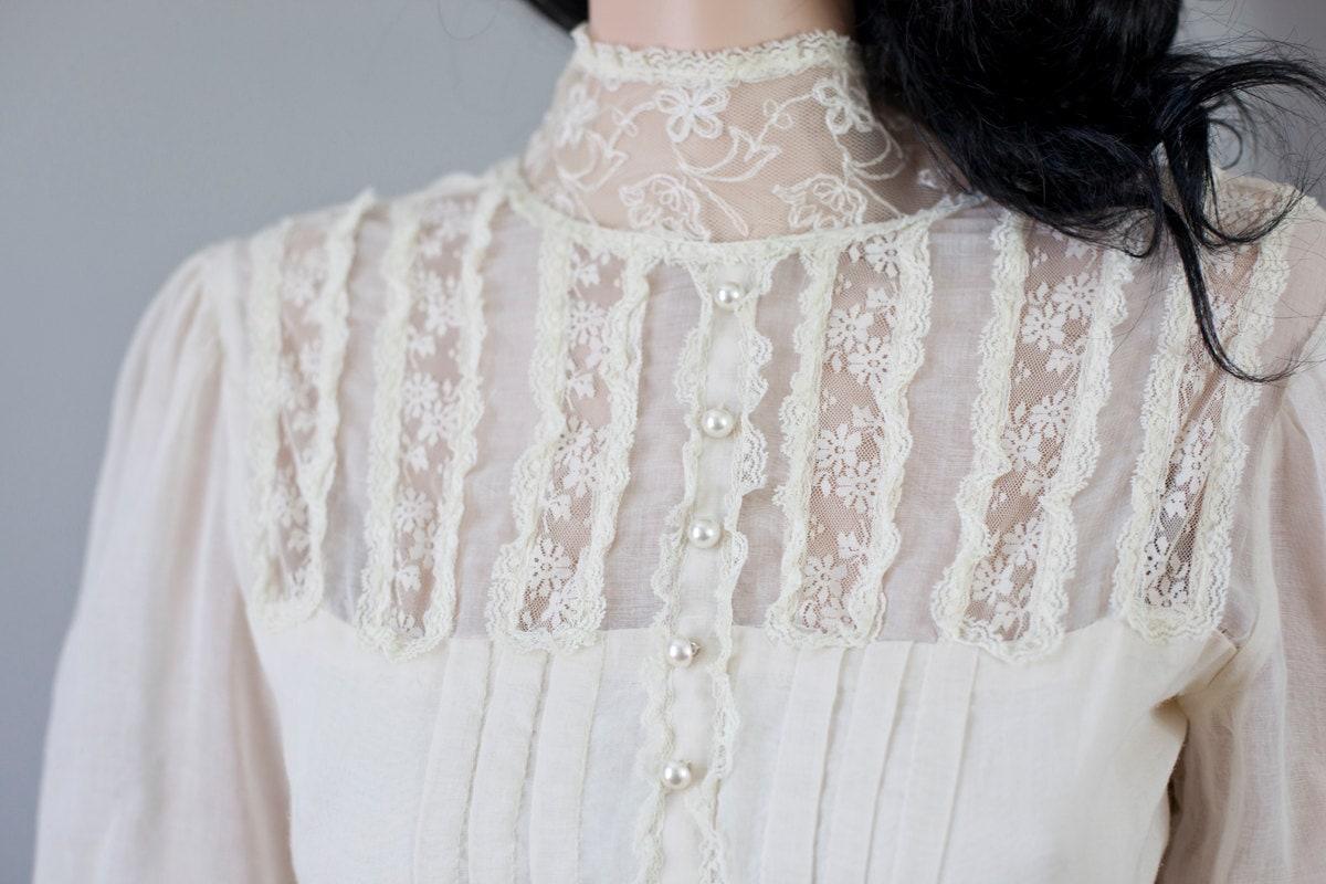 SALE 35 OFF Vintage Gunne Sax Wedding Dress White Gown