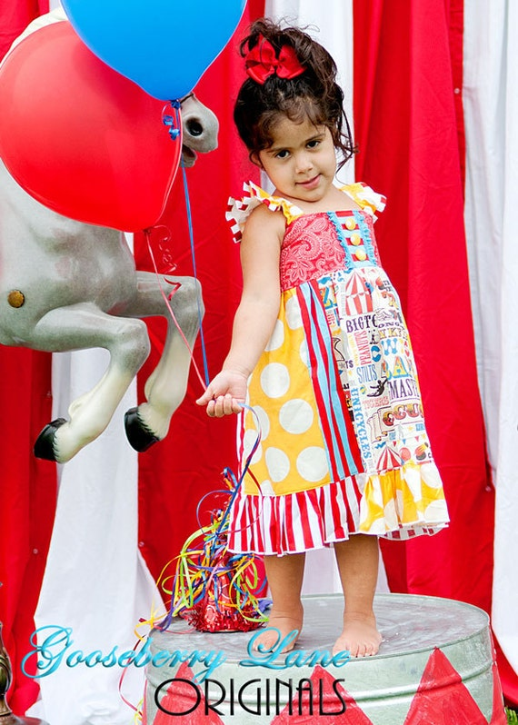 Gooseberry Lane Originals Vintage Circus Pippa Dress