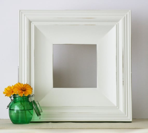 5x5 Picture Frame - White on Cottage - FREE SHIPPING