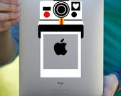 Retro Polaroid Camera iPad Decal / Macbook Decal / Laptop Decal