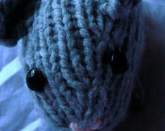 Knit Guinea Pig PATTERN