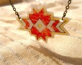 Red Southwest Necklace