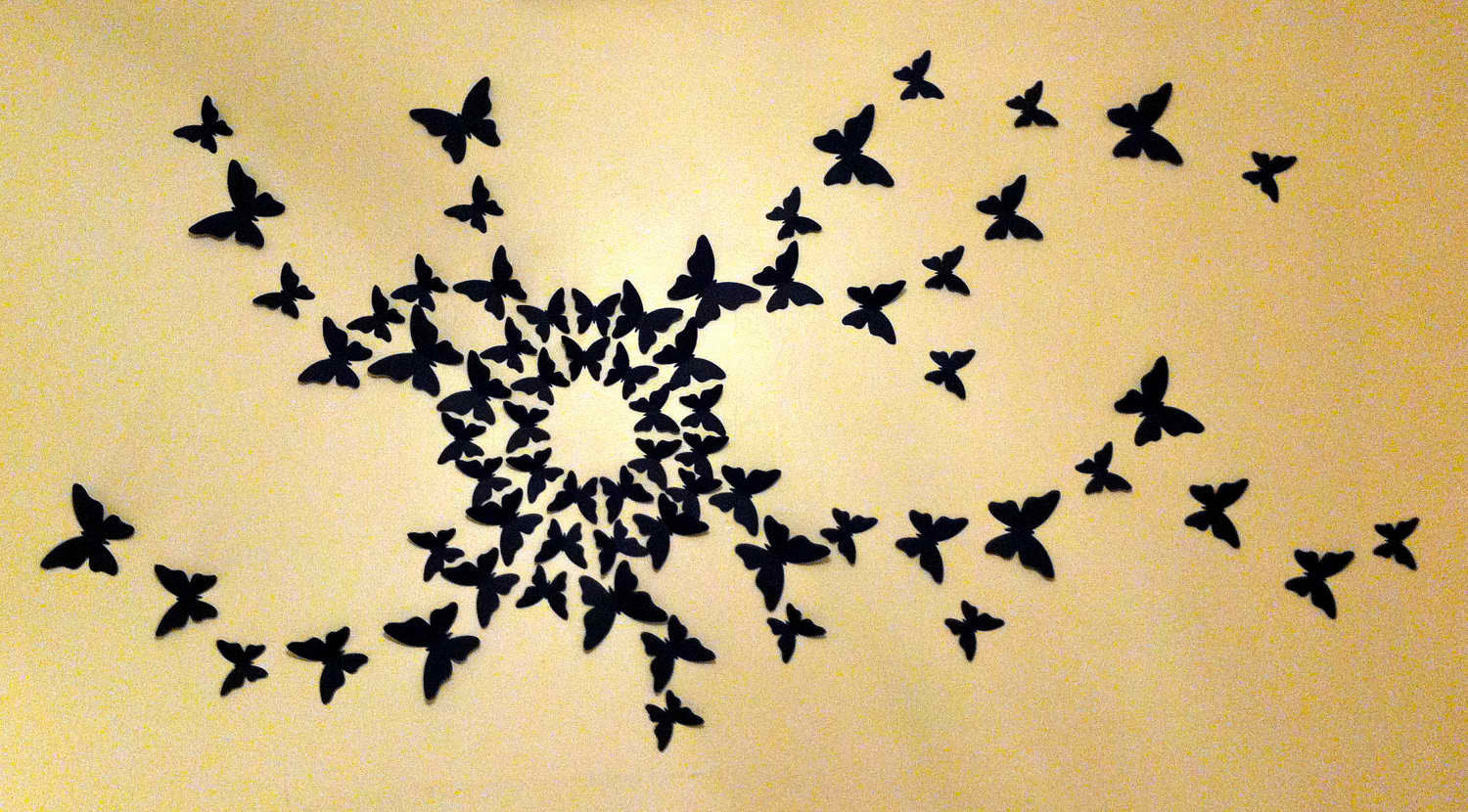 ... Butterfly wall decor Effect - goodworksfurniture. 1000+ ...