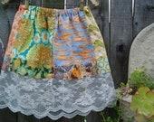 Peek a boo Lace Patchwork Short Skirt