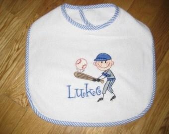Personalized Baseball Bib
