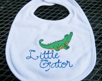 Florida Gator Baby Bib