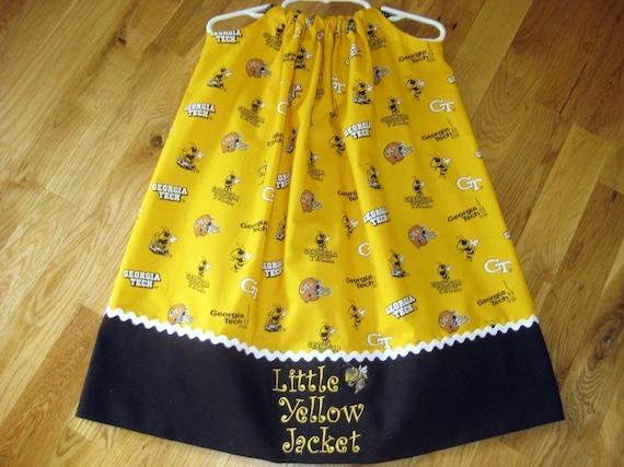 Georgia Tech Pillowcase Dress
