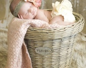 Newborn Diaper Cover- Cream