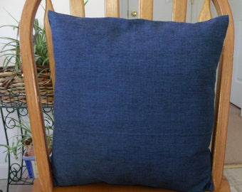 blue 16x16 pillow cover