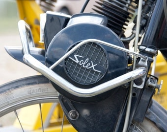 Solex - Old french motorbike Photo - 8 x 10 - Fine Art Photography print - French home decor Men Wall art