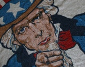 Perfect for Fourth of July Vintage Beach Towel
