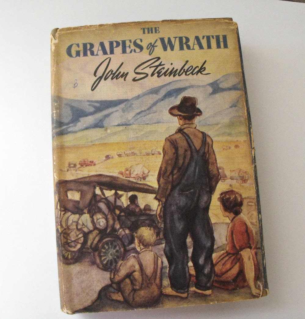 a look at family difficulties in the grapes of wrath by john steinbeck View and download grapes of wrath essays examples grapes of wrath by john steinbeck the grapes of wrath, is a deep look.