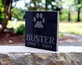Granite Pet Memorial Plaque