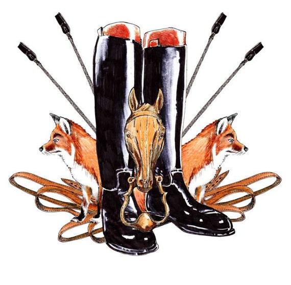 Fox Hunting Emblem