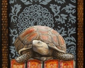 "Tortoise Fine Art Print ""Ancient Heart"" 16 x 20"