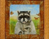 Brother Raccoon - Art Print 11 x 14