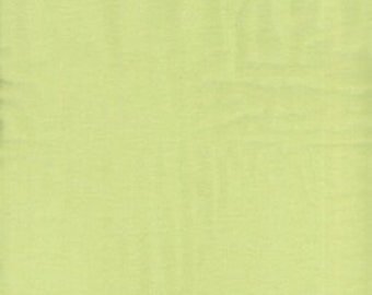 Solid Light Green Flannel, 1 Yard