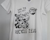 Recycle Zeus T-shirt