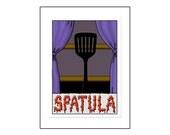 Spatula - Greeting Card