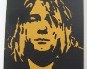 16 inch x 20 inch Kurt Cobain Painting
