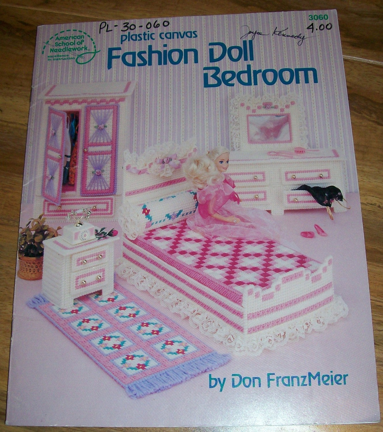Plastic Canvas Doll Furniture Fashion Doll By Vintagerotation