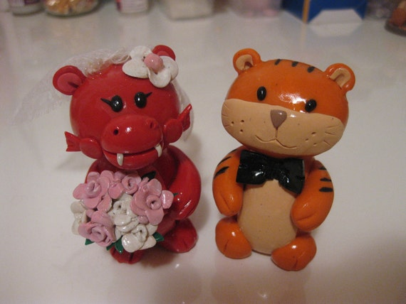 chinese zodiac wedding cake toppers customized zodiac animal signs cake toppers click and 12675