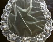 Matching Mantilla Veil - First Communion or Flower Girl MBV001