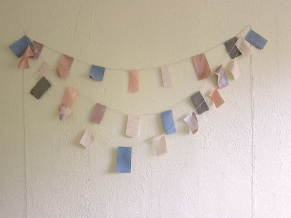 cloud square bunting banner