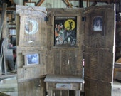 Rustic Room Divider, Photo Back Ground or Display wall